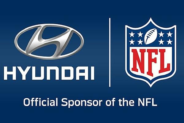 Hyundai NFL logos