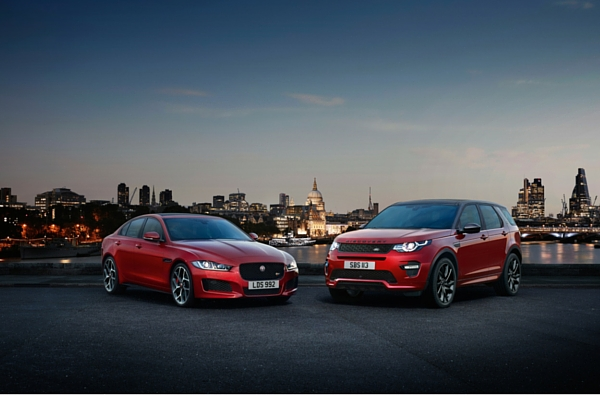 Jaguar XE and Land Rover Discovery Sport