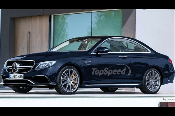 TopSpeed 2017 Mercedes E-Class Coupe rendering