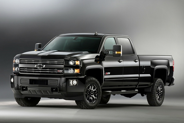 2016 Chevrolet Silverado 2500HD Z71 Midnight Edition