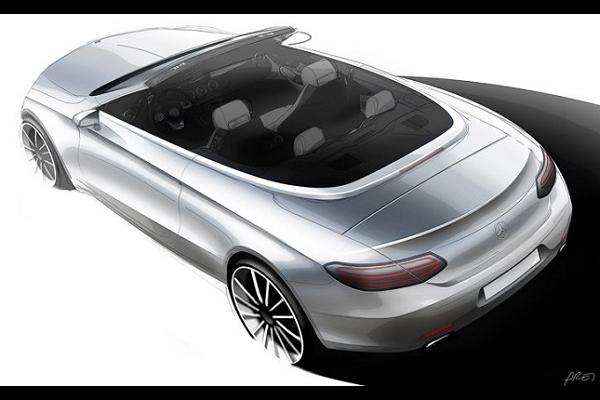 Mercedes-Benz C-Class Convertible Teaser