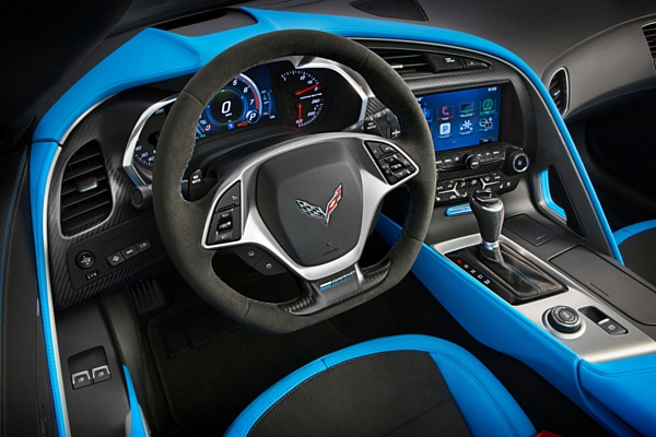 2017 Chevrolet Corvette Grand Sport interior