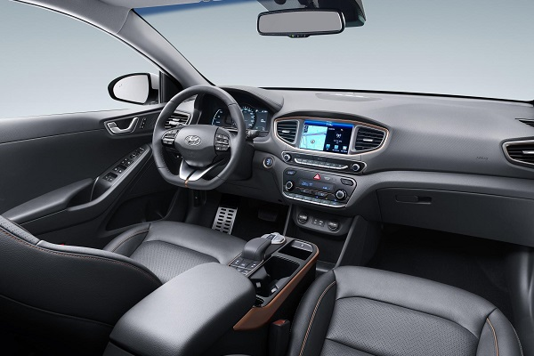 IONIQ Electric Interior