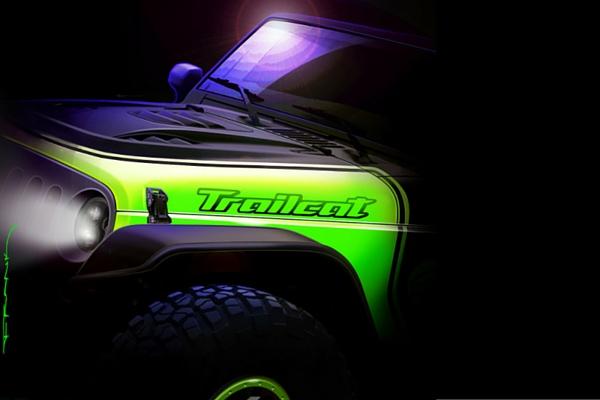 Jeep Wrangler Ttrailcat concept
