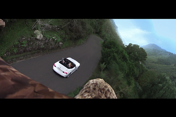 Fiat 124 Spider commercial