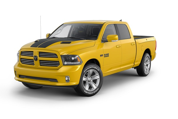 Ram 1500 Stinger Yellow Sport Edition