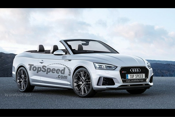 TopSpeed 2018 Audi RS5 Cabriolet rendering
