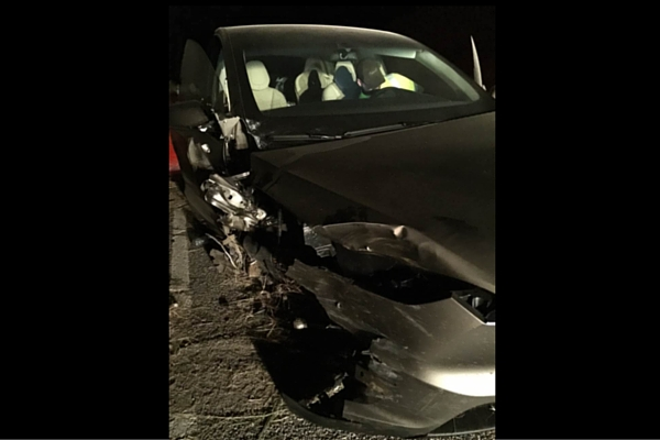 Tesla Model X crash in Montana