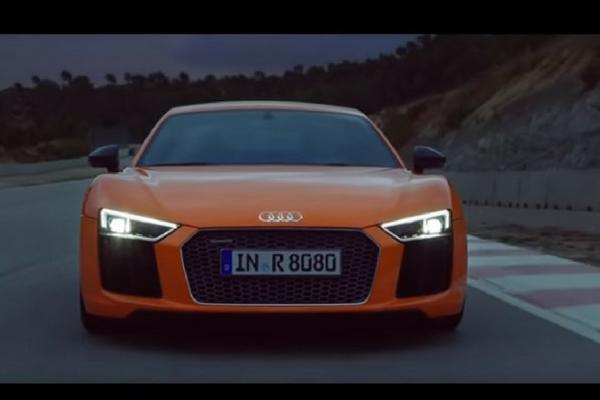 Audi R8 commercial