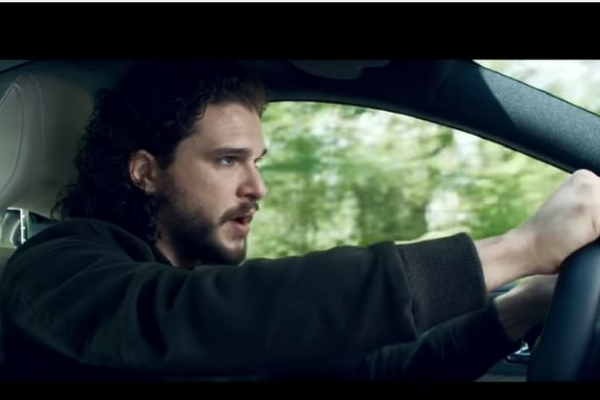 Infiniti Q60 Kit Harington commercial