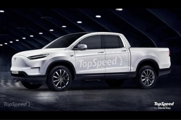 Rendered Tesla Pickup Truck Insider Car News
