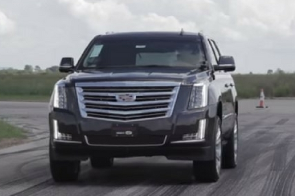 Hennessey HPE800 Supercharged Cadillac Escalade