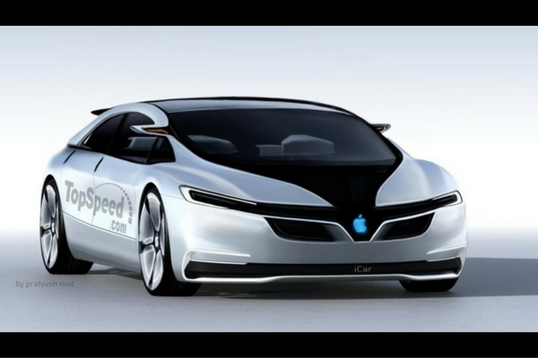 TopSpeed Apple iCar rendering