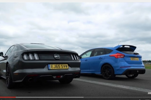 Ford Mustang GT vs Focus RS