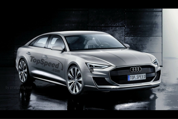 TopSpeed Audi A9 E-tron rendering