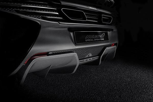 MSO Carbon Fiber Rear Diffuser