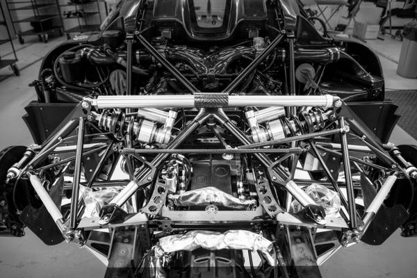 Koenigsegg chassis