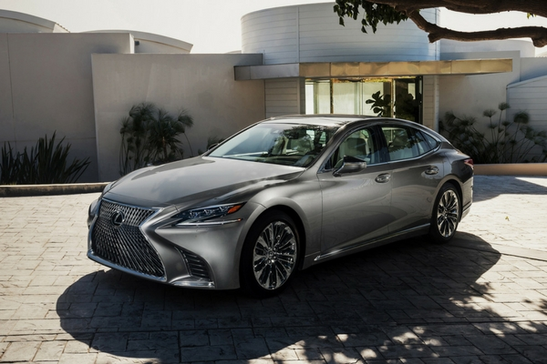 Lexus Shows Off Its New Ls Flagship Sedan Insider Car News
