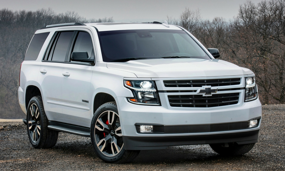 Chevrolet Reveals Powerful Tahoe RST Special Edition ...