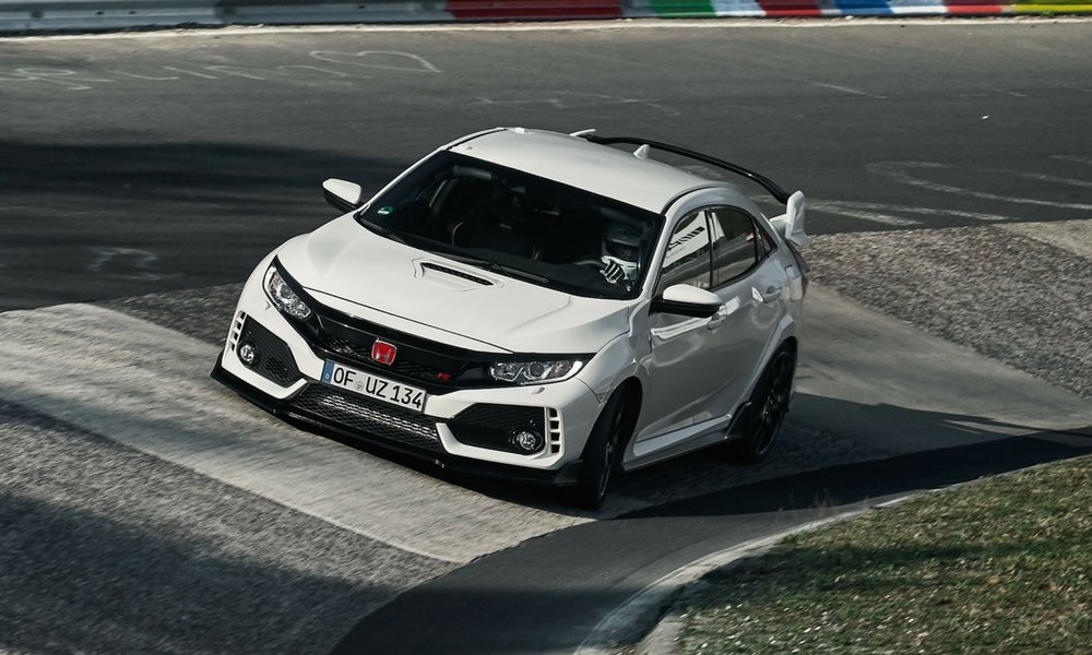 honda brags about civic type r ring lap time insider car news. Black Bedroom Furniture Sets. Home Design Ideas