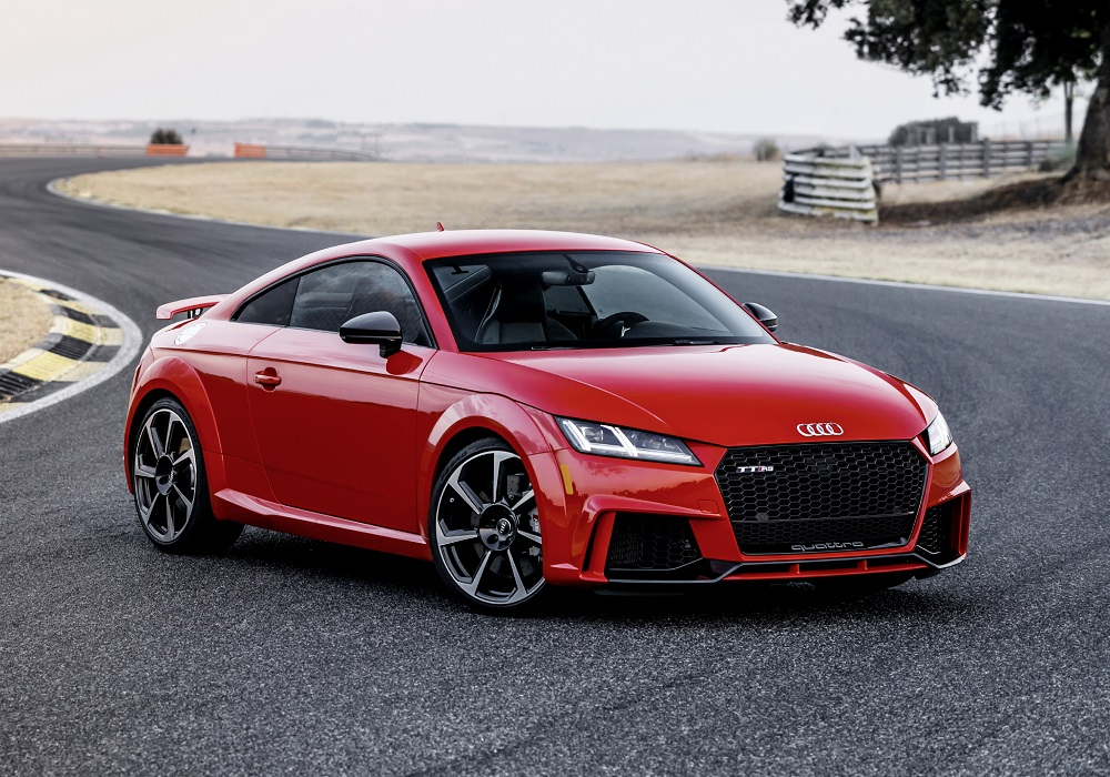 the 2018 audi tt rs to hit showrooms this spring insider