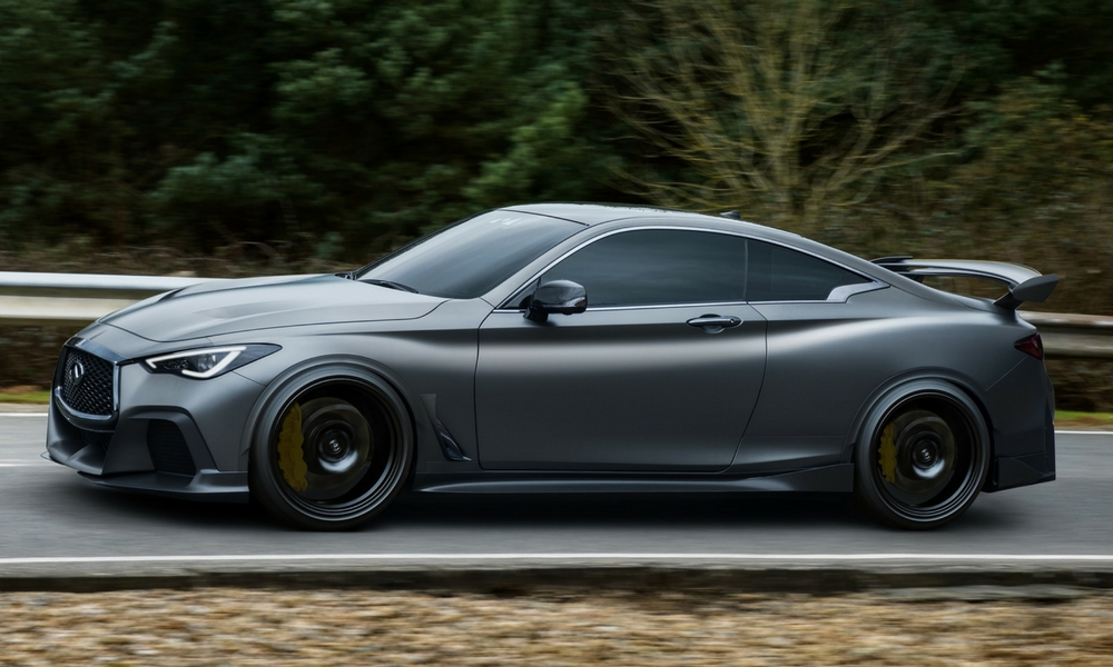 infiniti likely bringing q60 project black s to market. Black Bedroom Furniture Sets. Home Design Ideas