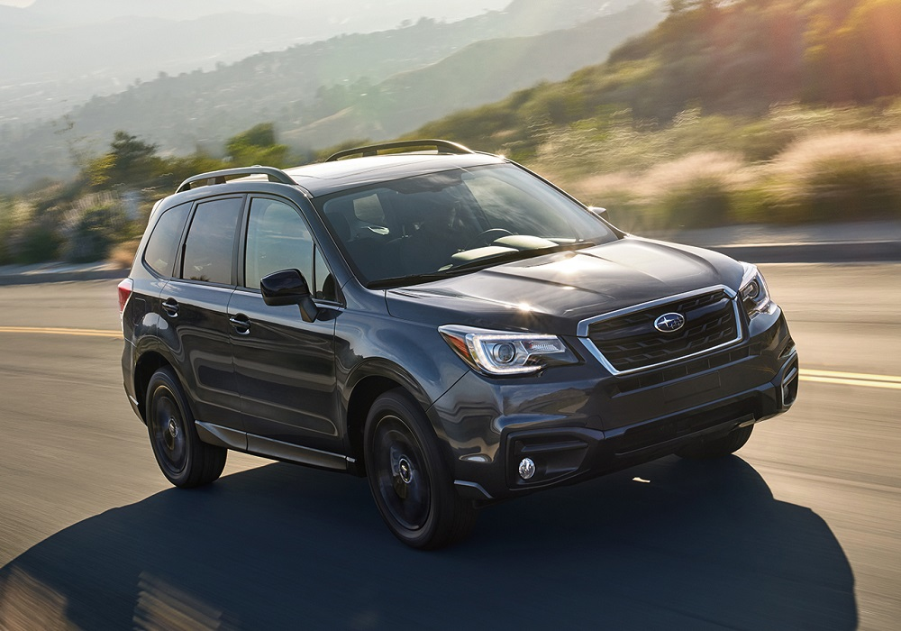 Subaru Adds a Black Edition and Announces Changes for the ...