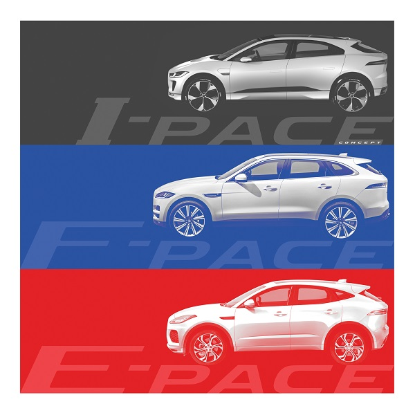 Appeared the first image of the new Jaguar crossover