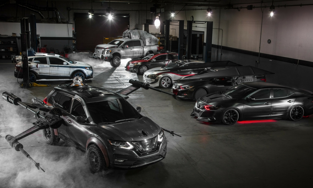 Nissan Goes Crazy With Star Wars Themed Cars Insider Car