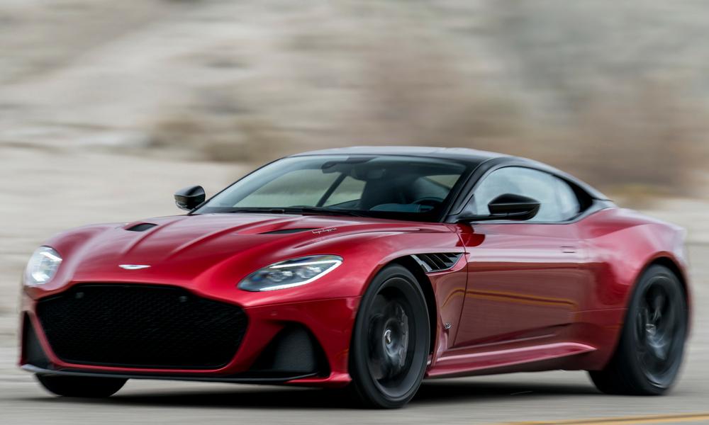 aston martin dbs superleggera shocks  awes insider car news