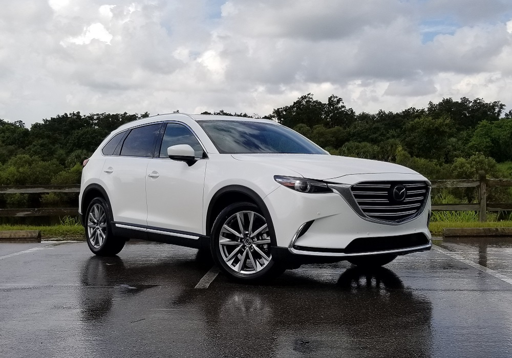 2018 Mazda CX-9 Signature: Miata Attitude With Three Rows ...