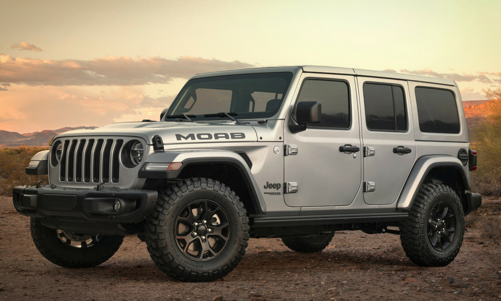 Jeep Wrangler Moab Edition Officially Unveiled – Insider ...