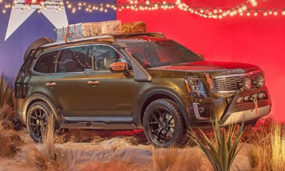 Kia Goes Bold With Telluride at SEMA – Insider Car News