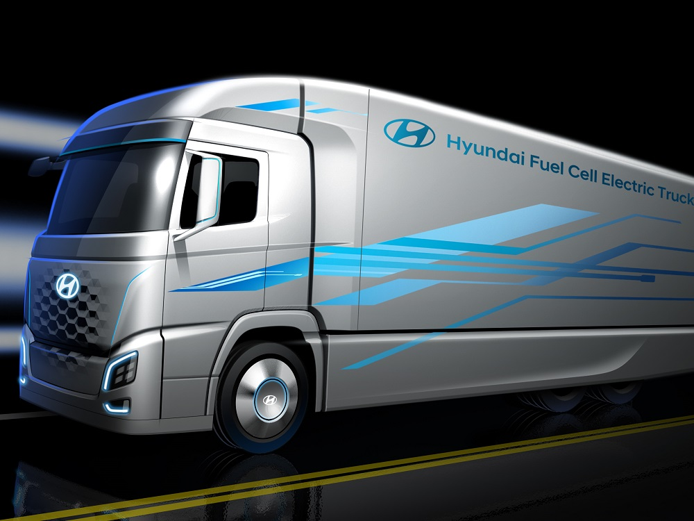 Hyundai Fuel-Cell Truck