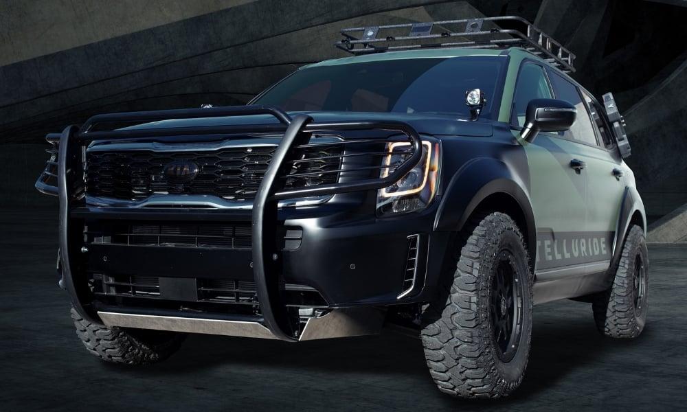 Bumper Guard For Suv >> Kia Goes Bold With Telluride at SEMA – Insider Car News