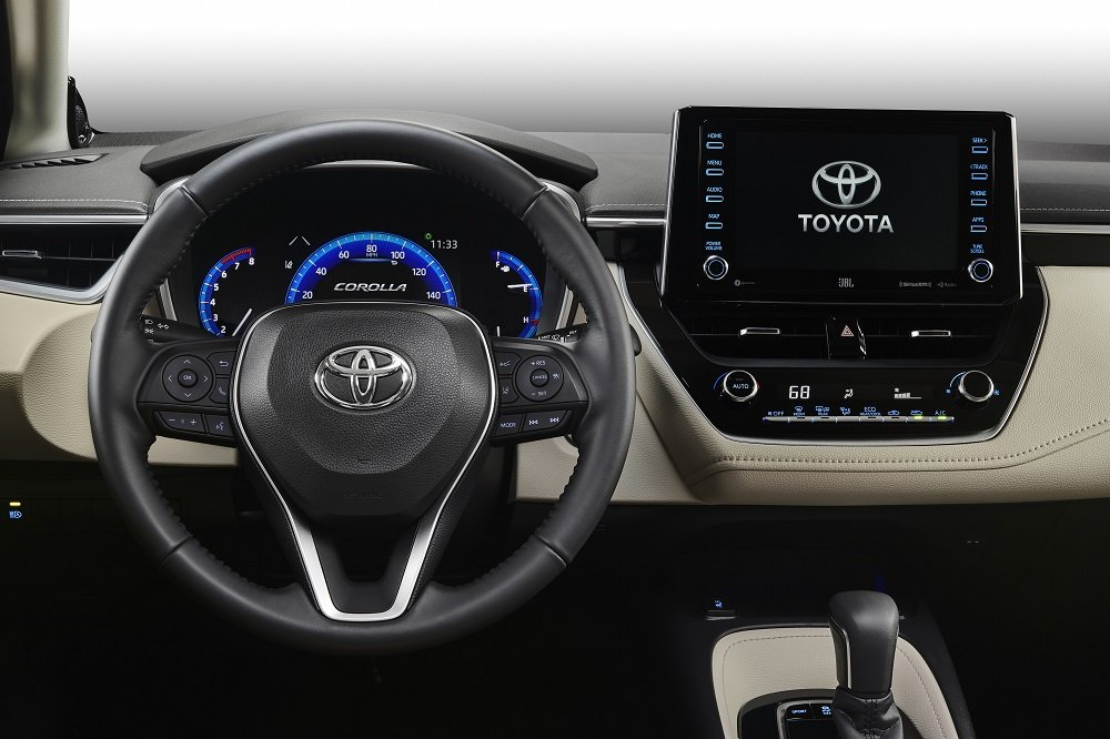 All-new 2020 Toyota Corolla interior