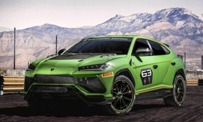 New racing SUV, Urus ST-X Concept