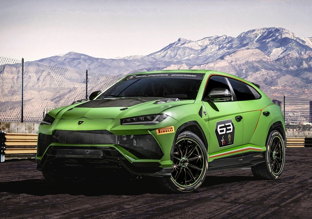 lamborghini urus concept  upgrades   racing series insider car news