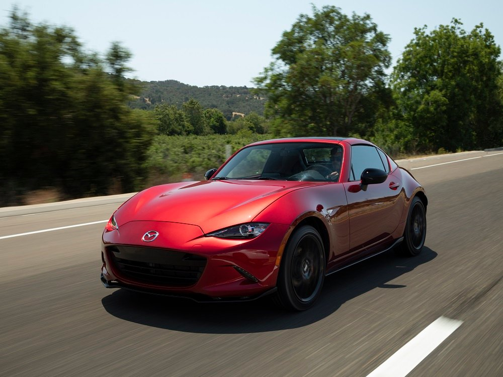 2019 mazda mx 5 miata rf fun in the sun with some. Black Bedroom Furniture Sets. Home Design Ideas